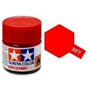 Tinta Acrílica Mini XF-7 Flat Vermelho (10 ml) - Tamiya 81707