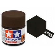 Tinta Acrílica Mini XF-85 Preto Borracha (10 ml) - Tamiya 81785