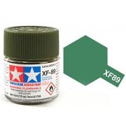Tinta Acrílica Mini XF-89 Verde Escuro 2 (10 ml) - Tamiya 81789