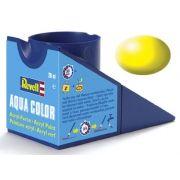 Tinta Acrílica Revell Aqua Color Amarelo Luminoso Sedoso - Revell 36312