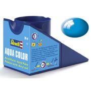 Tinta Acrílica Revell Aqua Color Azul Claro Brilhante - Revell 36150