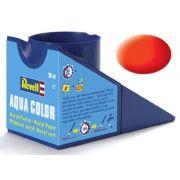 Tinta Acrílica Revell Aqua Color Laranja Luminoso Opaco - Revell 36125