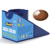 Tinta Acrílica Revell Aqua Color Marrom Lama Brilhante - Revell 36180