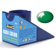 Tinta Acrílica Revell Aqua Color Verde Esmeralda Brilhante - Revell 36161