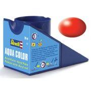 Tinta Acrílica Revell Aqua Color Vermelho Luminoso Sedoso - Revell 36332