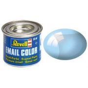 Tinta Sintética Revell Email Color Azul Transparente - Revell 32752