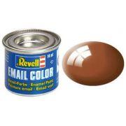 Tinta Sintética Revell Email Color Marrom Lama Brilhante - Revell 32180
