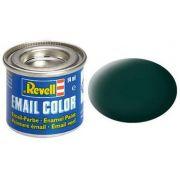 Tinta Sintética Revell Email Color Preto Esverdeado Fosco - Revell 32140