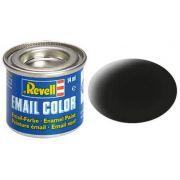 Tinta Sintética Revell Email Color Preto Fosco - Revell 32108