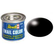 Tinta Sintética Revell Email Color Preto Seda - Revell 32302