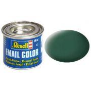 Tinta Sintética Revell Email Color Verde Escuro Fosco - Revell 32139