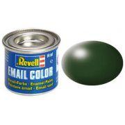 Tinta Sintética Revell Email Color Verde Escuro Seda - Revell 32363