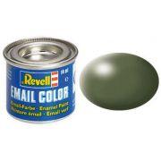 Tinta Sintética Revell Email Color Verde Oliva Seda - Revell 32361