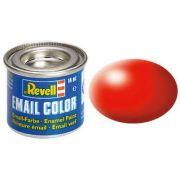 Tinta Sintética Revell Email Color Vermelho Brilhante Seda - Revell 32332