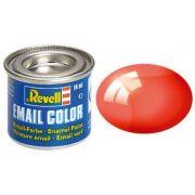 Tinta Sintética Revell Email Color Vermelho Transparente - Revell 32731