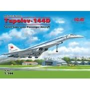 Tupolev Tu-144D - 1/144 - ICM 14402