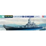 U.S. Navy Battleship BB-63 Missouri - 1/700 - Tamiya 31613