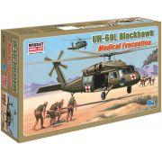 UH-60L Blackhawk Medical Evacuation - 1/48 - Minicraft 14644