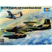 US A-37B Dragonfly Light Ground-Attack Aircraft - 1/48 - Trumpeter 02889
