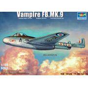 Vampire FB.MK.9 - 1/48 - Trumpeter 02875