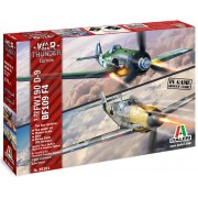 War Thunder - Bf109 F4 e Fw190 D-9 - 1/72 - Italeri 35101