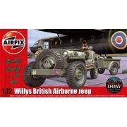Willys British Airborne Jeep - 1/72 - Airfix A02339