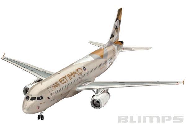 Airbus A320 Etihad Airways - 1/144 - Revell 03968  - BLIMPS COMÉRCIO ELETRÔNICO