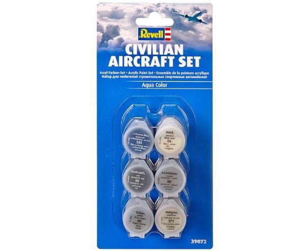 Civilian Aircraft Set - Revell 39072  - BLIMPS COMÉRCIO ELETRÔNICO