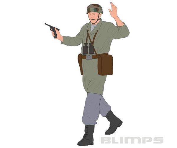Paraquedistas Alemães da Segunda Guerra Mundial - 1/72 - Revell 02532  - BLIMPS COMÉRCIO ELETRÔNICO