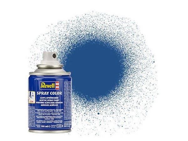 Tinta Revell Spray Color Azul Fosco - Revell 34156  - BLIMPS COMÉRCIO ELETRÔNICO