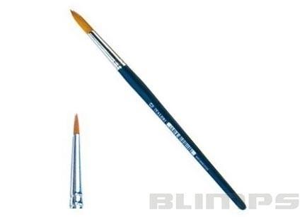 Pincel de cerda sintética arredondada 000 - Italeri 52201  - BLIMPS COMÉRCIO ELETRÔNICO