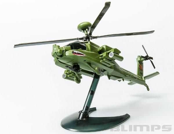 Quick Build Apache - Airfix J6004  - BLIMPS COMÉRCIO ELETRÔNICO