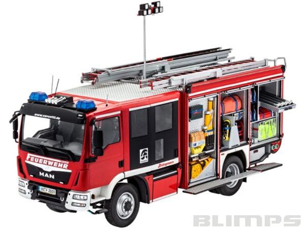 MAN TGM/Schlingmann HLF 20 VARUS 4x4 - 1/24 - Revell 07452  - BLIMPS COMÉRCIO ELETRÔNICO