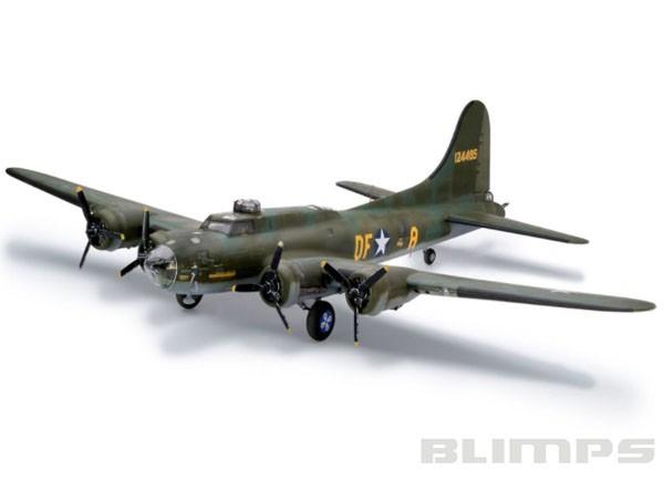 Boeing B-17F ´Memphis Belle´ - 1/48 - Revell 04297  - BLIMPS COMÉRCIO ELETRÔNICO