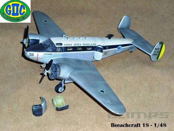 Beech UC-45 - 1/48 - GIIC  - BLIMPS COMÉRCIO ELETRÔNICO
