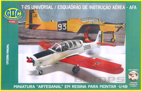 Neiva T-25 Universal - 1/48 - GIIC  - BLIMPS COMÉRCIO ELETRÔNICO