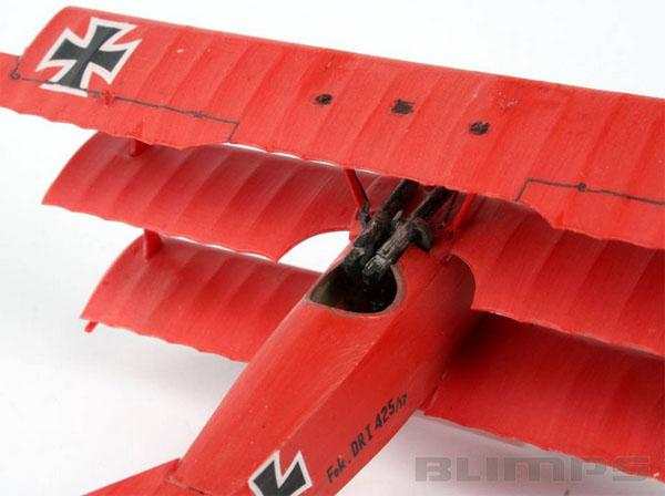Fokker DR.1 Triplane - 1/72 - Revell 04116  - BLIMPS COMÉRCIO ELETRÔNICO