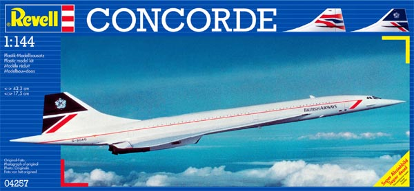 Concorde British Airways - 1/144 - Revell 04257  - BLIMPS COMÉRCIO ELETRÔNICO