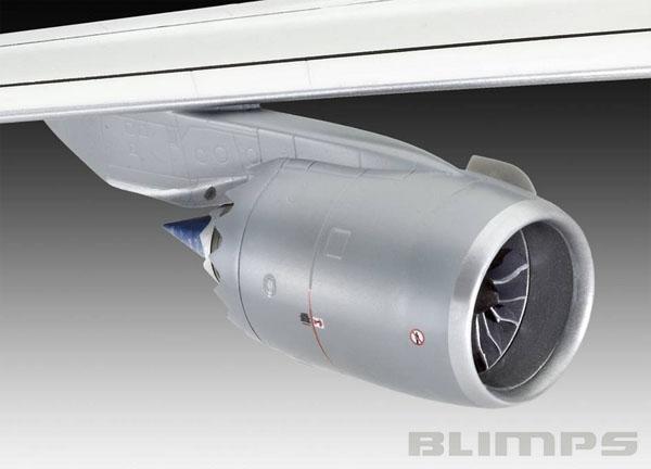 Boeing 747-8 Lufthansa - 1/144 - Revell 04275  - BLIMPS COMÉRCIO ELETRÔNICO