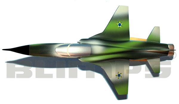 Maquete F-5 FAB 40 cm  - BLIMPS COMÉRCIO ELETRÔNICO