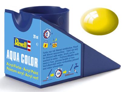 Tinta Acrílica Revell Aqua Color Amarelo Brilhante - Revell 36112  - BLIMPS COMÉRCIO ELETRÔNICO
