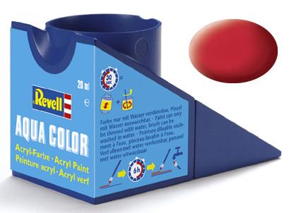Tinta Acrílica Revell Aqua Color Vermelho Carmim Seda - Revell 36136  - BLIMPS COMÉRCIO ELETRÔNICO