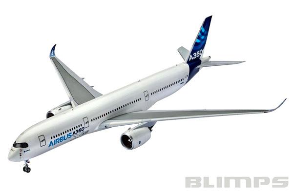 Airbus A350-900 - 1/144 - Revell 03989  - BLIMPS COMÉRCIO ELETRÔNICO
