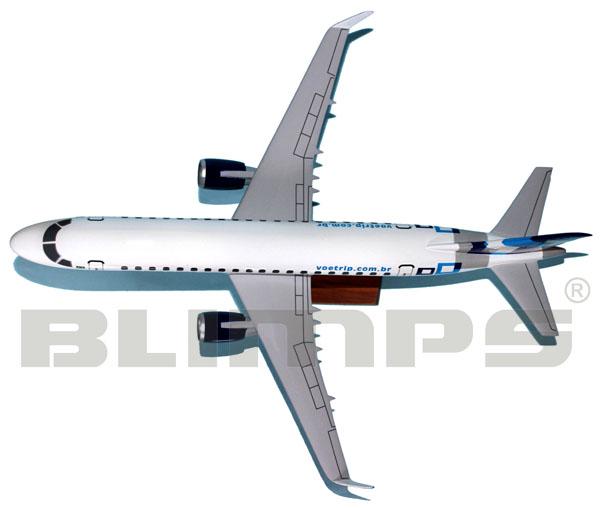 Maquete Embraer 175 TRIP - 38 cm  - BLIMPS COMÉRCIO ELETRÔNICO