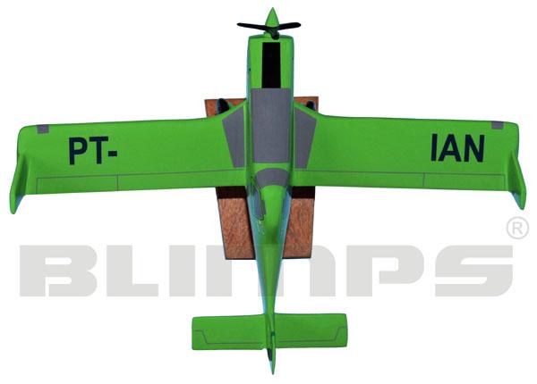 Maquete Neiva EMB-202 Ipanema - 22 cm  - BLIMPS COMÉRCIO ELETRÔNICO