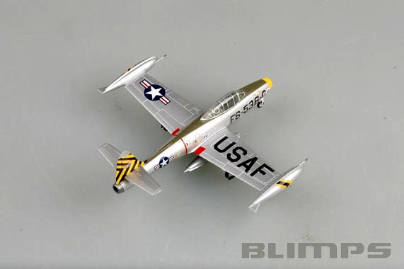 Republic F-84E Thunderjet - 1/72 - Easy Model 37106  - BLIMPS COMÉRCIO ELETRÔNICO