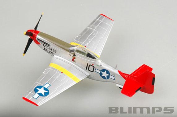 North American P-51D Mustang - 1/72 - Easy Model 39201  - BLIMPS COMÉRCIO ELETRÔNICO
