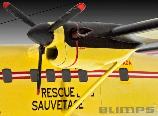 DHC-6 Twin Otter - 1/72 - Revell 04901  - BLIMPS COMÉRCIO ELETRÔNICO