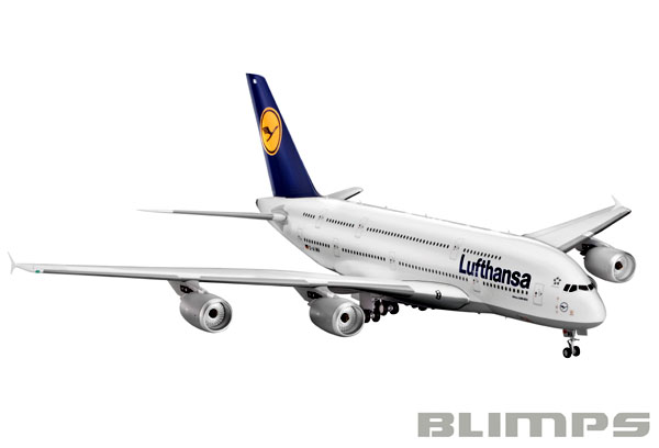 Airbus A380-800 Lufthansa - 1/144 - Revell 04270  - BLIMPS COMÉRCIO ELETRÔNICO