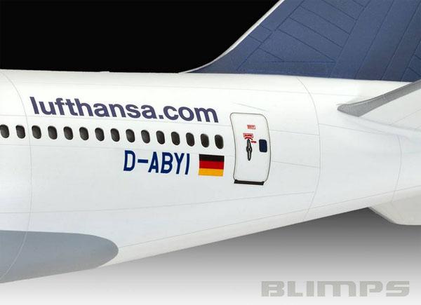 Boeing 747-8 Lufthansa Fanhansa Siegerflieger - 1/144 - Revell 01111  - BLIMPS COMÉRCIO ELETRÔNICO